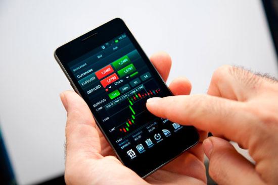 Форекс работать через смартфон forex trading is it profitable to