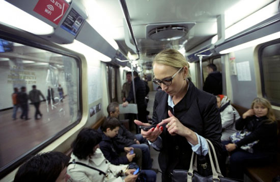 Wi-Fi в метро Москвы: 500 Мбит/с