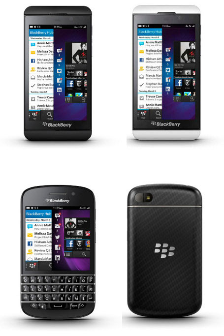 BlackBerry Z10 и Q10