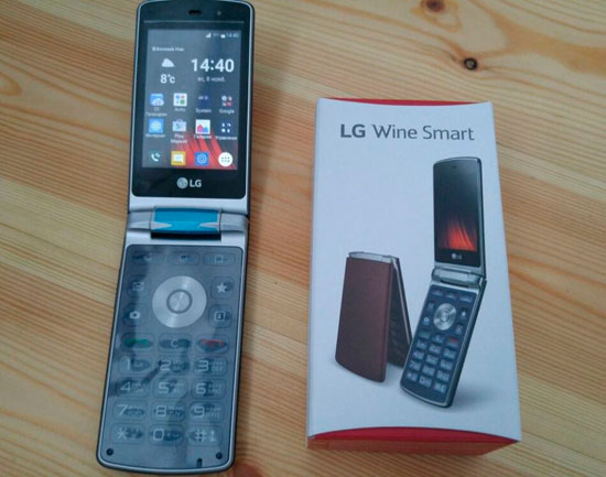 Отзыв о смартфоне LG Wine Smart H410